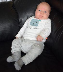 baby 6 weken oud