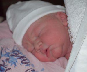 pas geboren baby