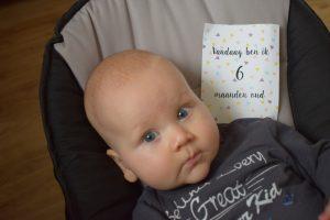 baby van zes maanden