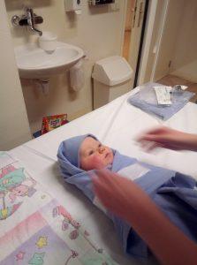 Mri bij een baby