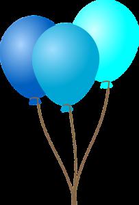 Ballon jongen 2 jaar