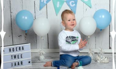 de tweede verjaardag van mijn zoon