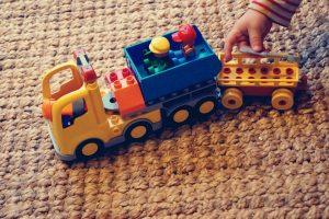 Duplo vrachtauto cadeau jongen