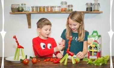 kind meer groenten laten eten spoony